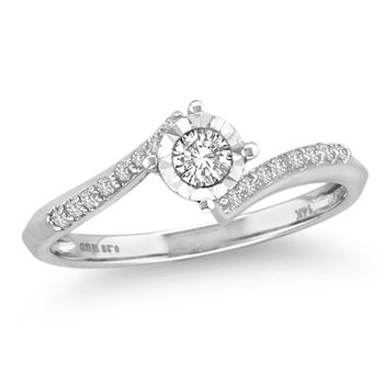 14K 0.25Ct Daim Ring