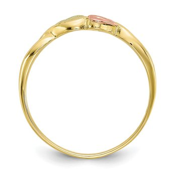 10k Tri-color Black Hills Gold Ring