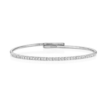 Diamond Flexi Bangle