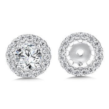 Diamond Earing Jacket ( .29 tw )