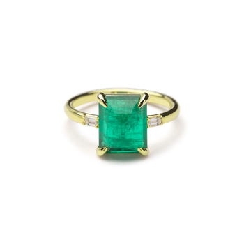 Malay Emerald Ring