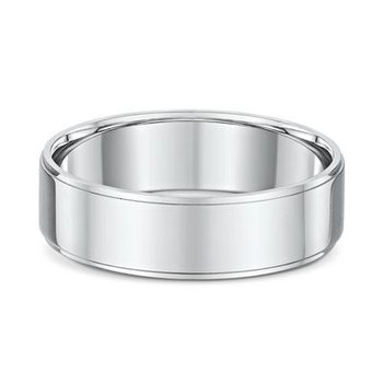 6mm Side Cut Wedding Band