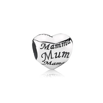 Mother's Heart Charm