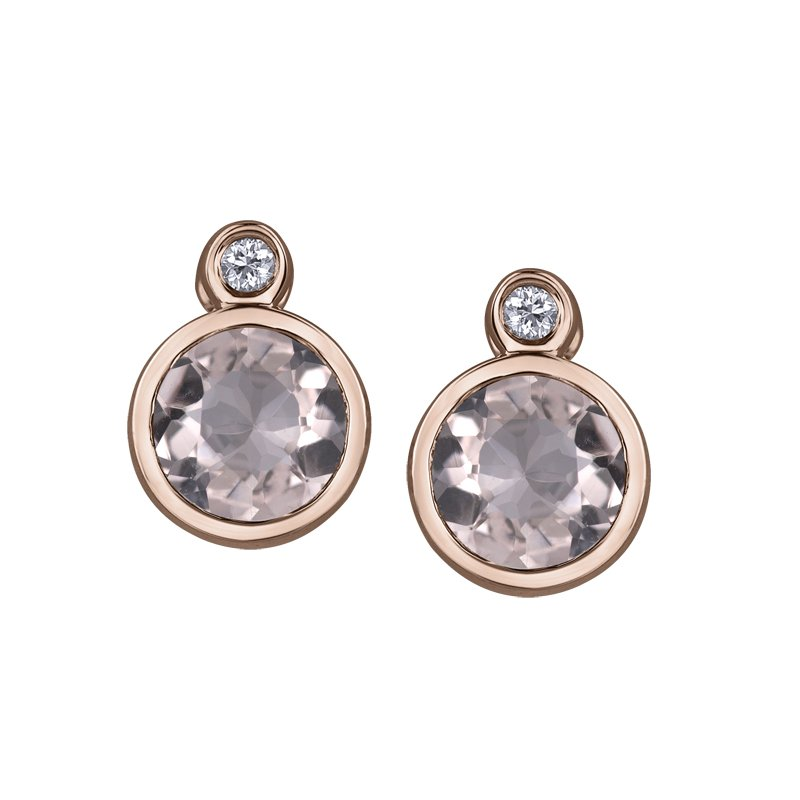 Diamond Days Morganite Earrings
