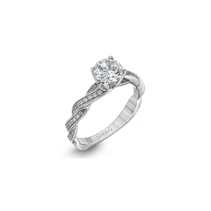 Simon G MR1498 ENGAGEMENT RING
