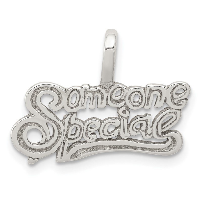 Quality Gold Sterling Silver Someone Special Pendant