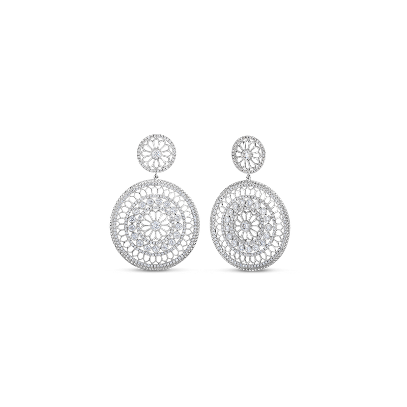 Roberto Coin Rosette Earrings
