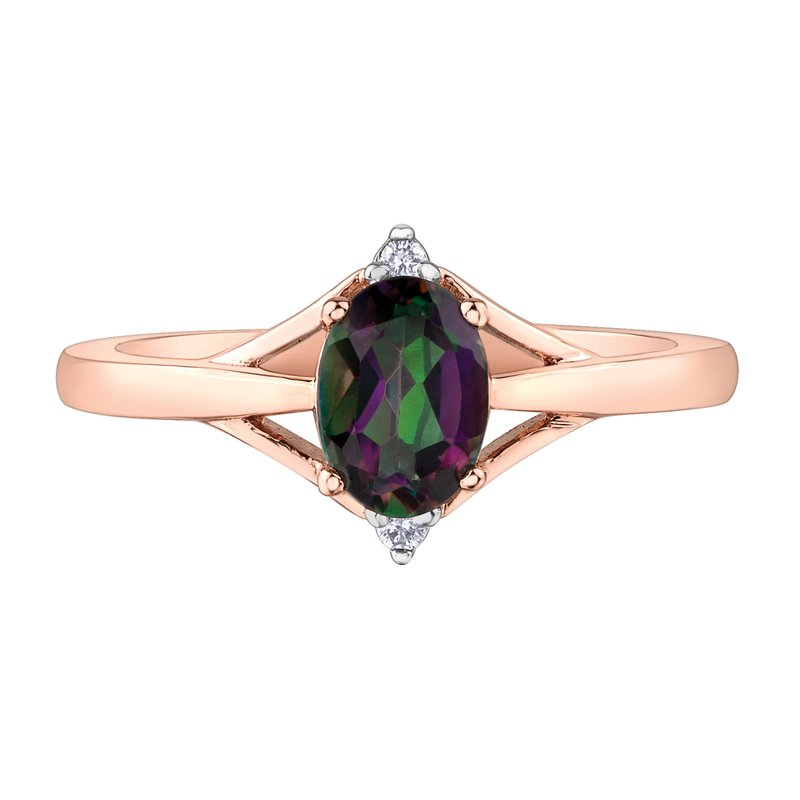 Timeless Beauty Mystic Topaz Ladies Ring