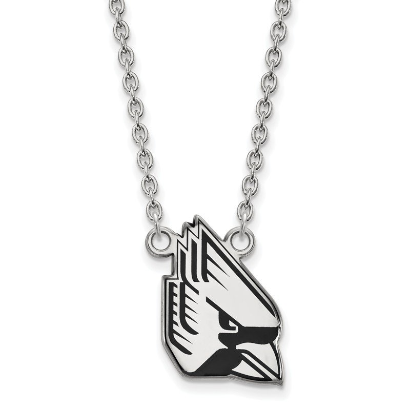 NCAA Sterling Silver Ball State University NCAA Necklace