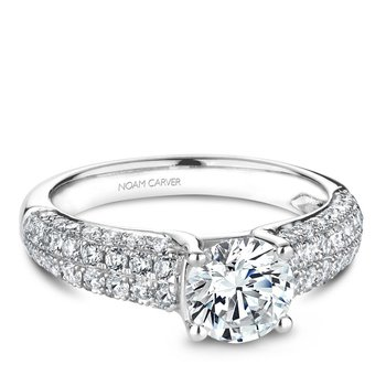Noam Carver Vintage Engagement Ring B171-01A