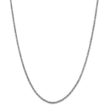 14k WG 2mm Byzantine Chain
