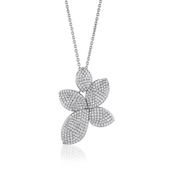 Sparkling Flower Necklace
