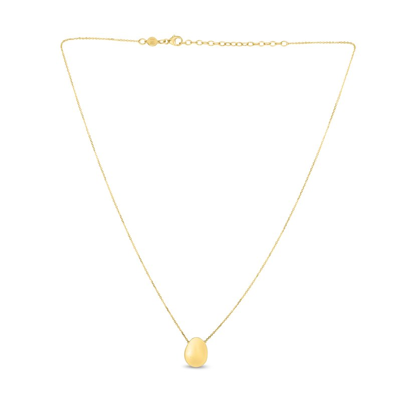 Royal Chain 14K Gold Bean Necklace