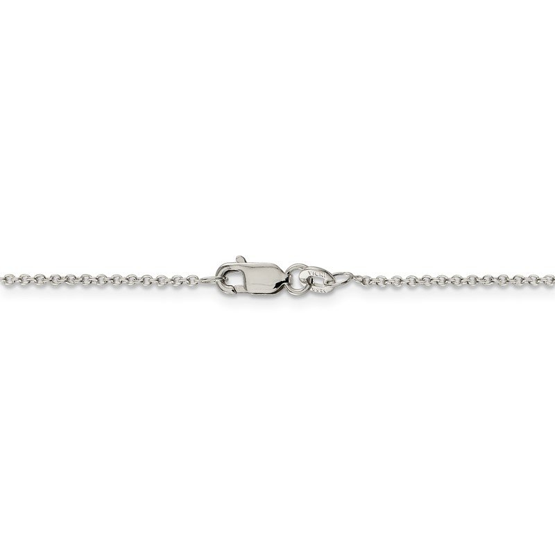 Quality Gold Sterling Silver 1.25mm Cable Chain Anklet