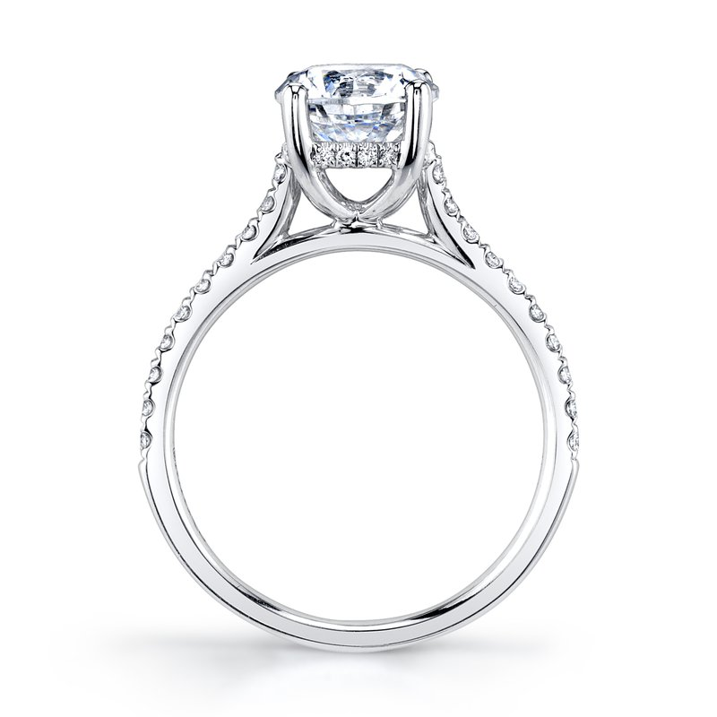 MARS 27039-R150 Engagement Ring, 0.27 Ctw.