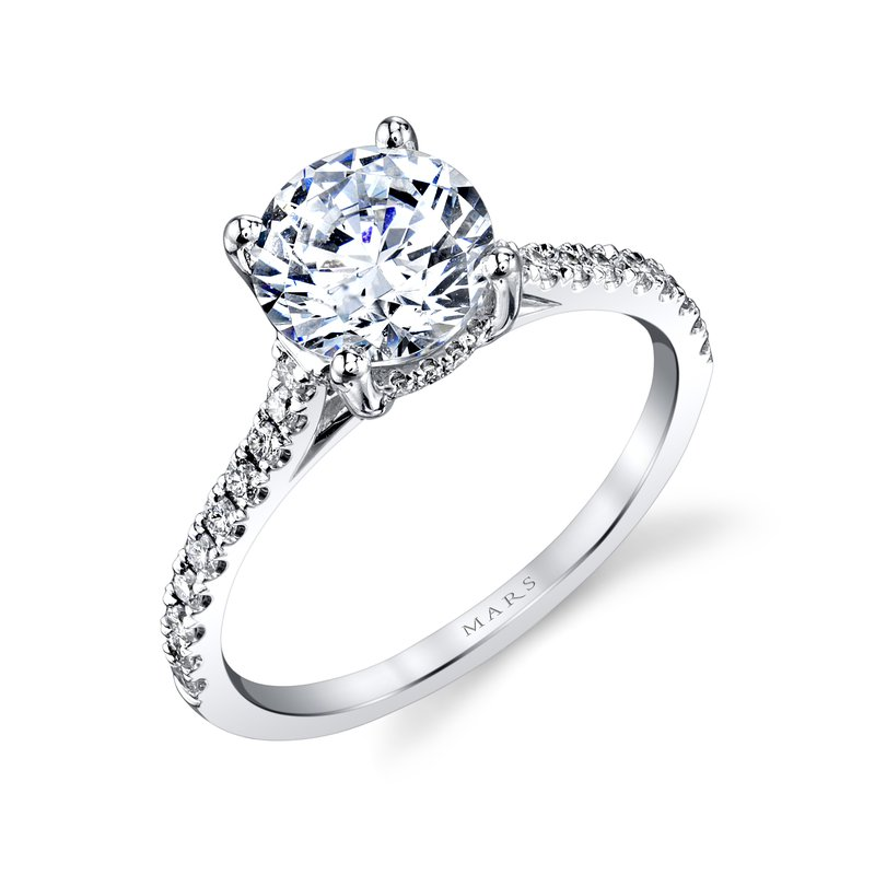 MARS Jewelry - Engagement Ring 27039-R150