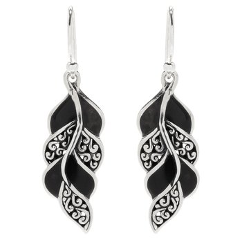 Cascada Leaf Earrings