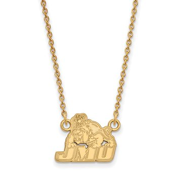Gold-Plated Sterling Silver James Madison University NCAA Necklace