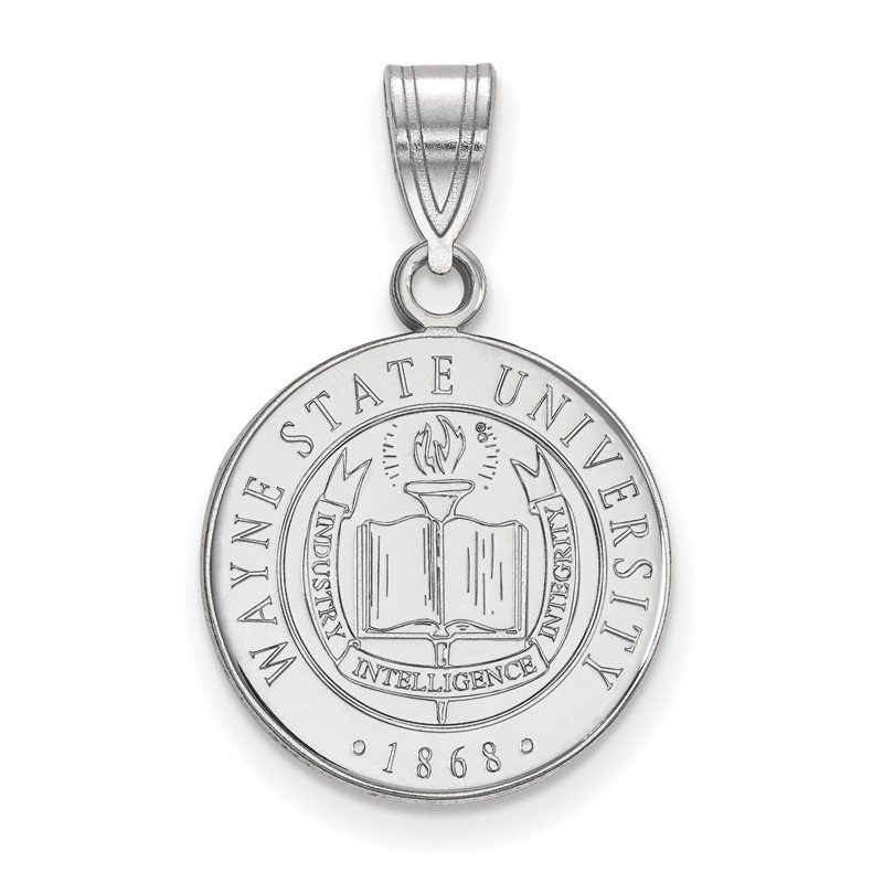 NCAA Sterling Silver Wayne State University NCAA Pendant