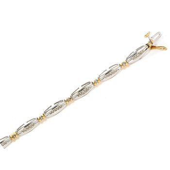 10K WY Diamond Tennis Bracelet