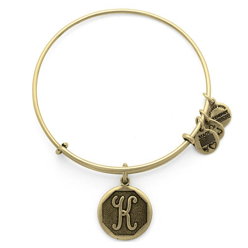 Alex and Ani INITIAL K EWB, RG