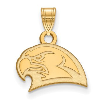 Gold-Plated Sterling Silver Miami University NCAA Pendant