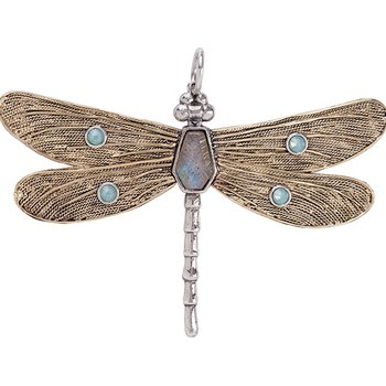 Transformative Dragonfly Pendant