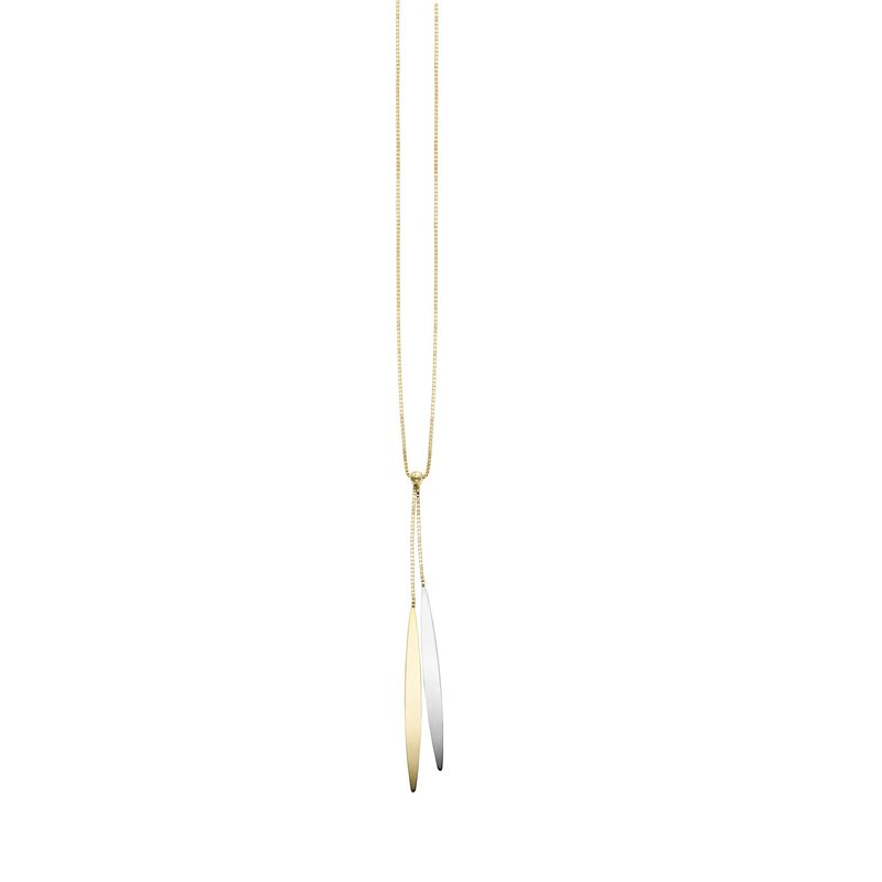 Royal Chain 14K Gold Polished SOHO Lariat Necklace