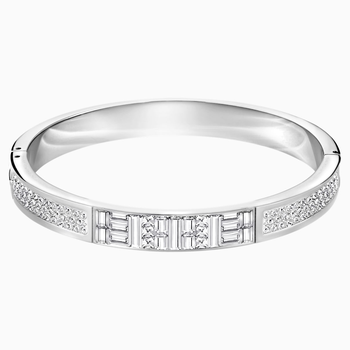 Ethic Narrow Bangle, White