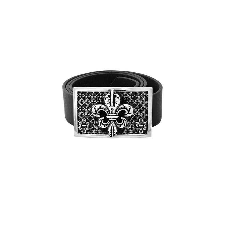 King Baby Fdl Relic Buckle - High Polished Alloy & Black