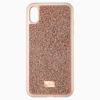Glam Rock Smartphone Case, iPhone® XS Max, Pink Gold