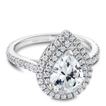 Noam Carver Fancy Engagement Ring R051-03A
