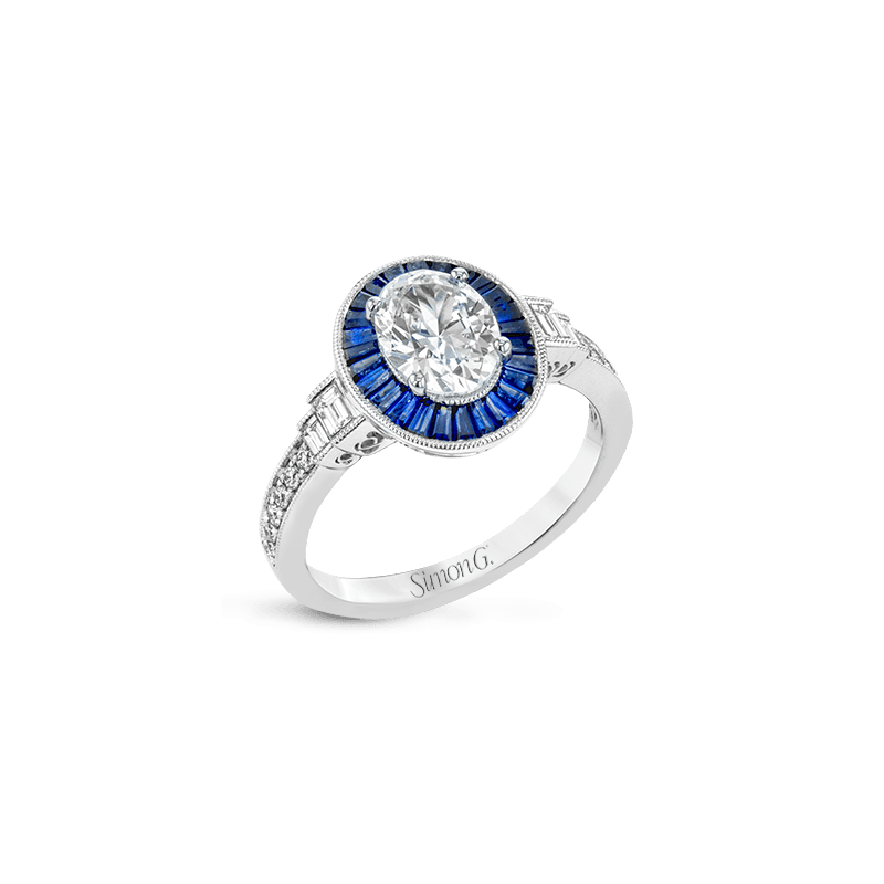 Simon G LR1188 ENGAGEMENT RING