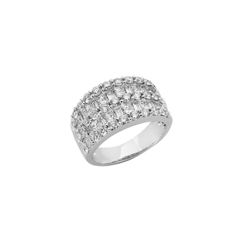 S. Kashi  & Sons Platinum Diamond Ring
