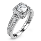 Zeghani ZR1179 ENGAGEMENT RING