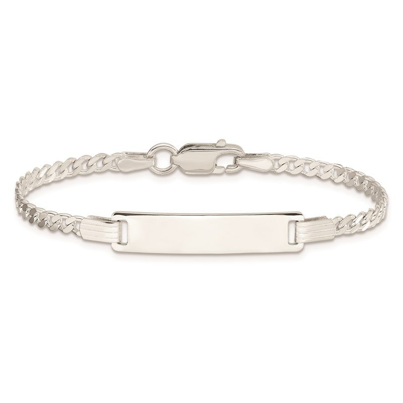 J.F. Kruse Signature Collection Sterling Silver Baby ID Bracelet