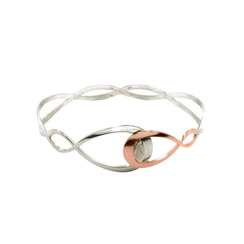 Frederic Duclos Interlocking Pear Cuff