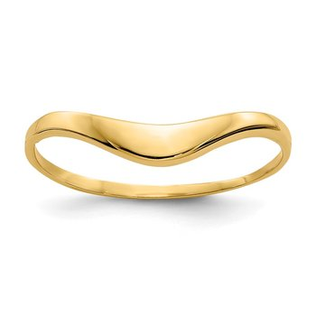 14k Polished Dome Ring