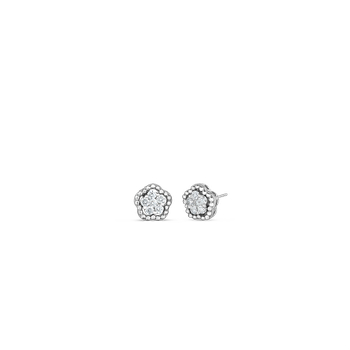 18KT GOLD CLASSIC DIAMOND EARRINGS