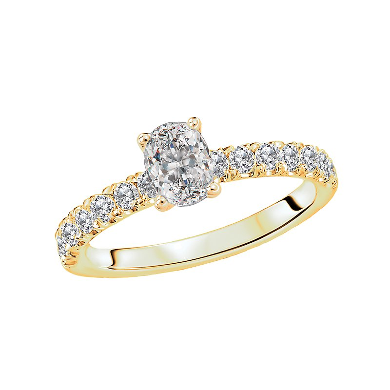 LaVie Diamond Solitaire Engagement Ring