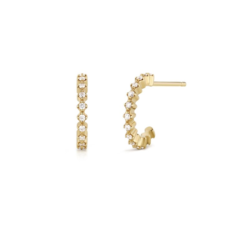 Aurelie Gi MARIE | Diamond Hoops