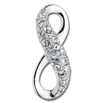 Crystal Infinity Convertible Clasp