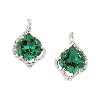 Emerald Earrings-CE3079WEM