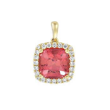 Padparadscha Pendant-CP4395YPD