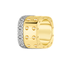 Roberto Coin 3 Row Ring With Diamonds