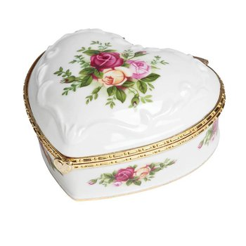 "Heart Jewelry Box Musical 4""  (If You Love Me)"
