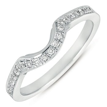 White Gold Matching Band For EN7152