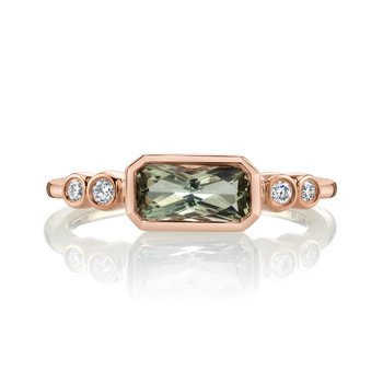 MARS 27236 Fashion Ring, 0.11 Dia. 0.78 Green Am.