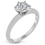 Simon G MR2948 ENGAGEMENT RING