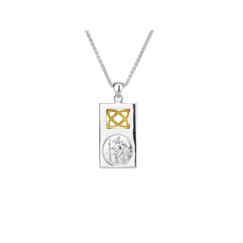 Keith Jack St. Christopher Pendant Small